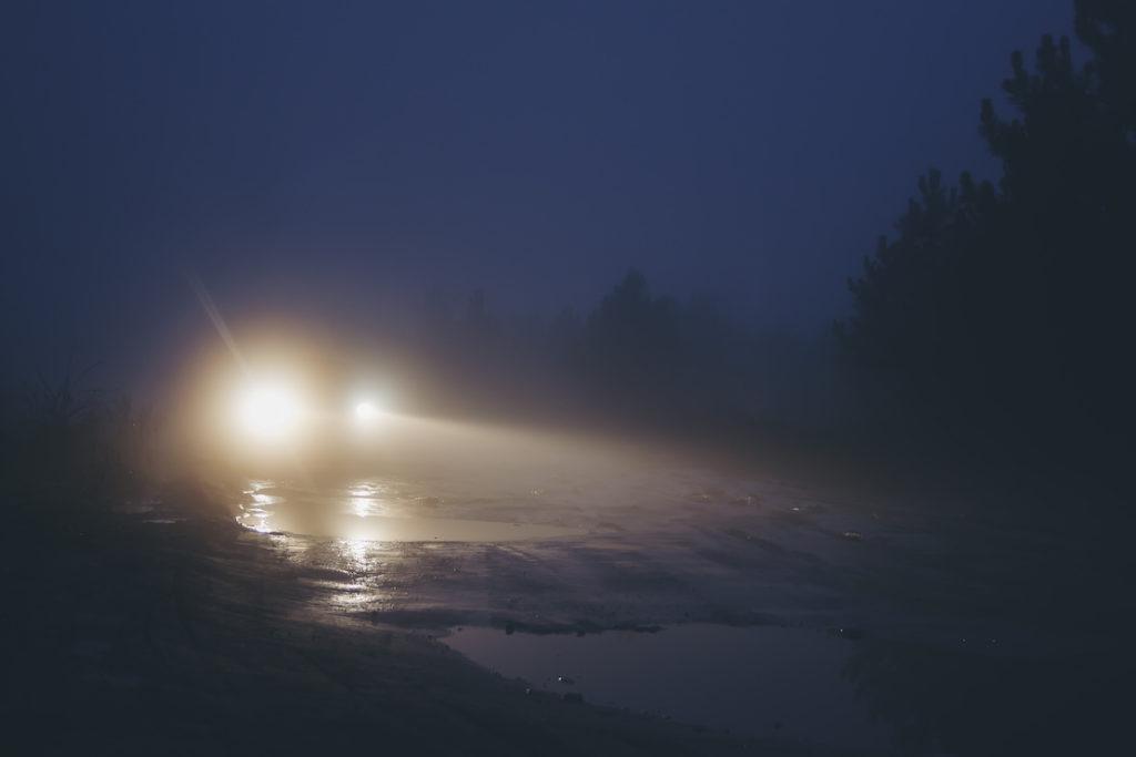 ヘッドライトの光量